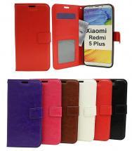 billigamobilskydd.se Crazy Horse Lompakko Xiaomi Redmi 5 Plus