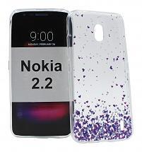 billigamobilskydd.se TPU-Designkotelo Nokia 2.2