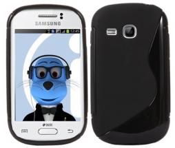 billigamobilskydd.se S-Line TPU-muovikotelo Samsung Galaxy Young (s6310)