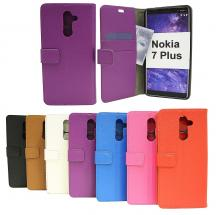 billigamobilskydd.se Jalusta Lompakkokotelo Nokia 7 Plus