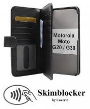 CoverIn Skimblocker XL Wallet Motorola Moto G20 / Moto G30
