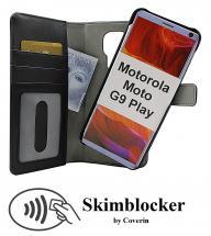 CoverIn Skimblocker Magneettikotelo Motorola Moto G9 Play