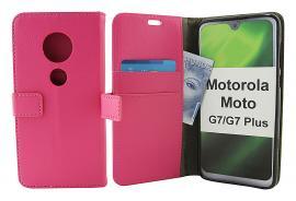 billigamobilskydd.se Jalusta Lompakkokotelo Motorola Moto G7 / Moto G7 Plus
