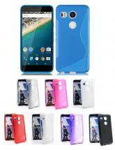 billigamobilskydd.se S-Line TPU-muovikotelo Google Nexus 5X (H791)