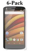 billigamobilskydd.se Kuuden kappaleen näytönsuojakalvopakett Lenovo Motorola Moto X Force